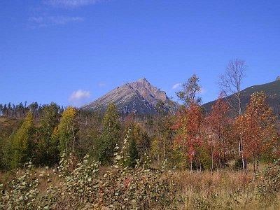 Vysoké Tatry - Lomnický Štít,pohled z Tatranské Lomnice (nahrál: petras21)