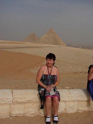 na vyhlídce u pyramid (nahrál: Helča2)