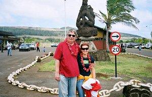 Chile - Velikonoční ostrov, listopad 2007