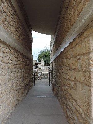 Kréta 2015 - Den šestý na Krétě - Knóssos, Agios Georgios Selinaris, Neapoli