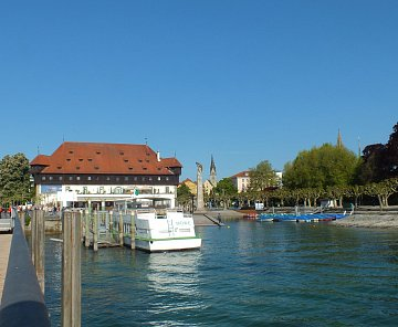 Bodamské jezero - okolo jezera