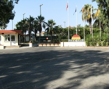 Turecko-Side 2012, hotel Paradise Side Beach