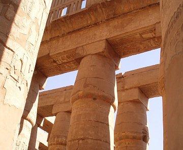 Al-Deir Al-Bahari Temple, Karnak Temple, Nil