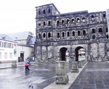 Trevír - Trier, Německo
