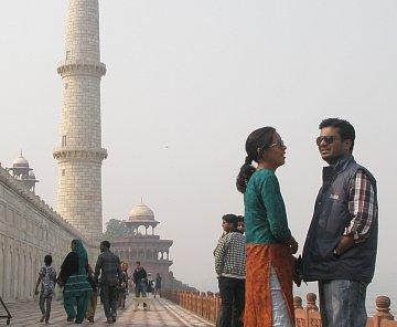 Indie - Ágra + Dillí