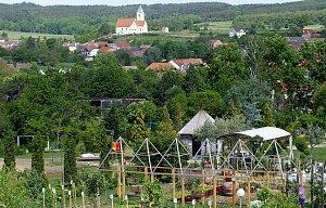 Rakouské zahrady v Schiltern a v Tulln