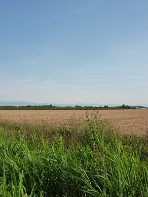 Cesta z Caorle přes Itálii a Rakousko