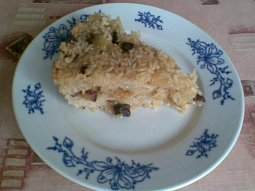 Rychlý rýžový nákyp