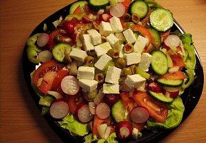 Alenčin rychlý skládaný salát