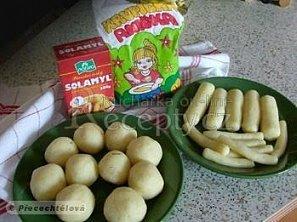 Bramborové těsto-recept po babičce