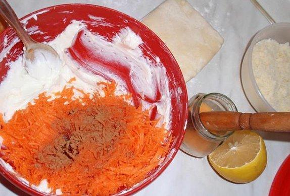 Dýňové nebo mrkvové šátečky s tvarohem
