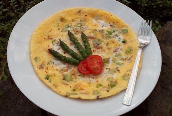 Chřestová omeleta photo-0