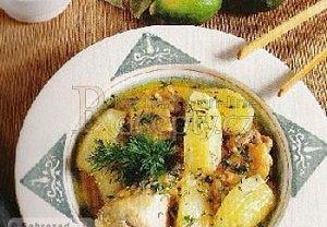 Ázerbájdžánská Bozartma z kuřete