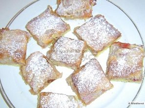 Hraběnčin rebarborový koláč