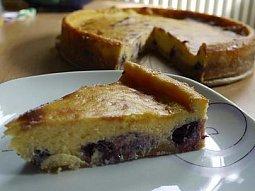 Limetkový cheesecake s borůvkami