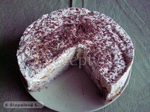 Oblíbený piškotový koláč s tvarohem a želatinou