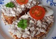 Cottage sardinky - pomazánka