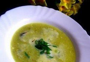 Polévka z jarních cibulek