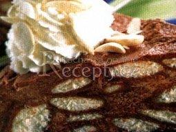 Piškotový kakaový dort