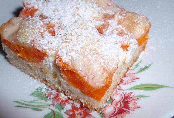 Jednoduchý meruňkový koláč photo-0