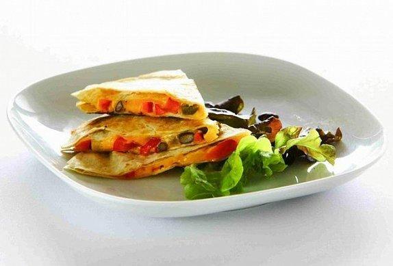 Vegetariánská Quesadilla photo-0