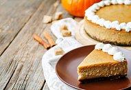 Dýňový cheesecake s javorovým sirupem
