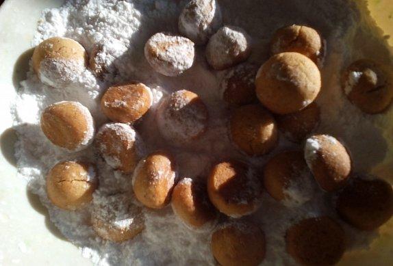 Ořechové bochánky - cukroví