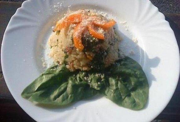 Pečené špenátové rizoto photo-0