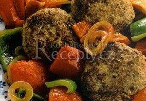 Frikadelky s letní zeleninou