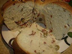 Chlebová bábovka s rozmarýnem