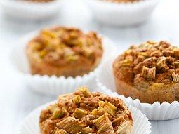 Rebarborové muffiny