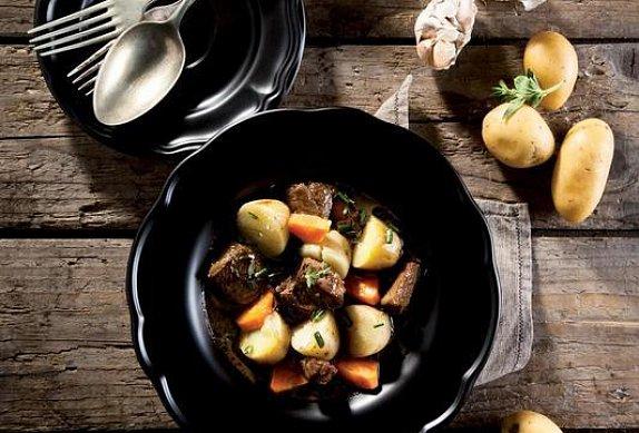 Dušené jehněčí Irish Stew