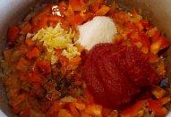 Rozlétané plněné papriky