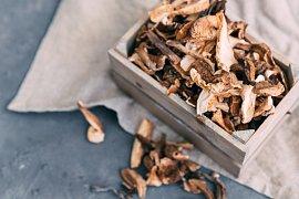 Jak na voňavé sušené houby