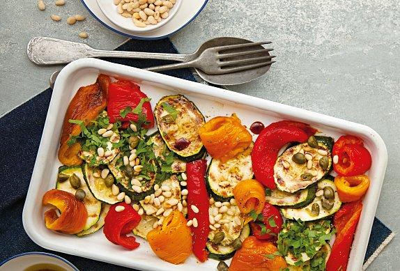 Salát z grilované zeleniny photo-0