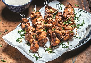 Grilovaný kuřecí kebab