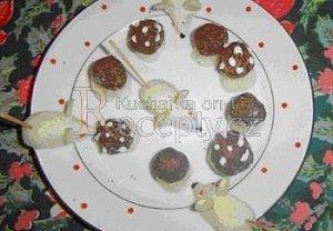 Kokosové hříbečky, kokosové myšky
