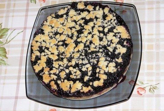 Drobenka - koláč s pudinkem a ovocem