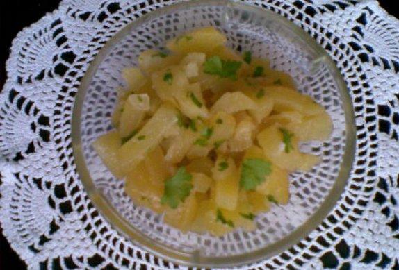 Hubnoucí brambory - salát nebo příloha