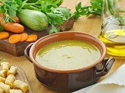 Zeleninová polévka na řecký způsob