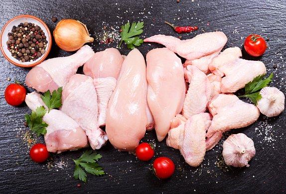 Kuře s bůčkem na žampionech