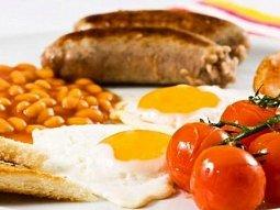 Anglická tradiční snídaně