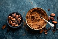 Kakaový koláč z kefíru (podmáslí) á la perník