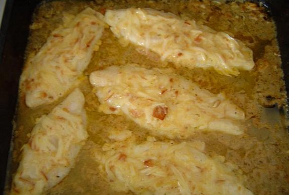 Pangasius v sýrovém kabátku