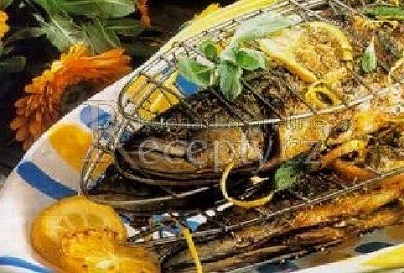 Makrely na roštu