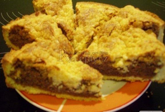 Francouzský ořechový koláč