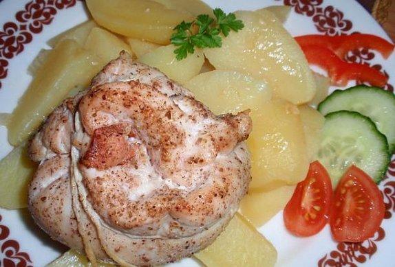 Sýrovo-jablečné měšce (kapsy)