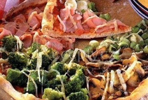 Pizza čtyř chutí