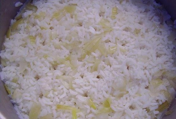 Babiččina postelová rýže