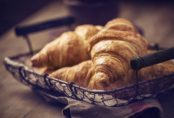 Plněné croissanty